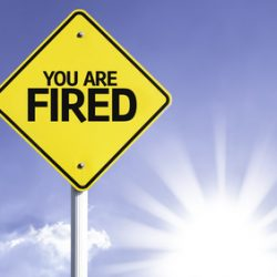You are Fired road sign with sun background